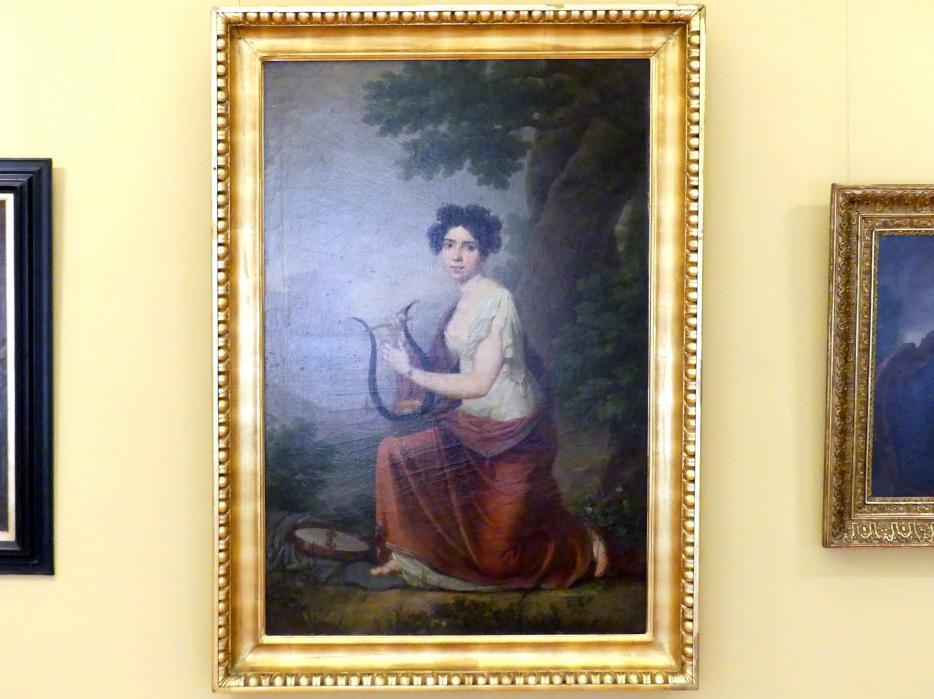 Jan Rustem: Porträt der Maria Dobek, 1811