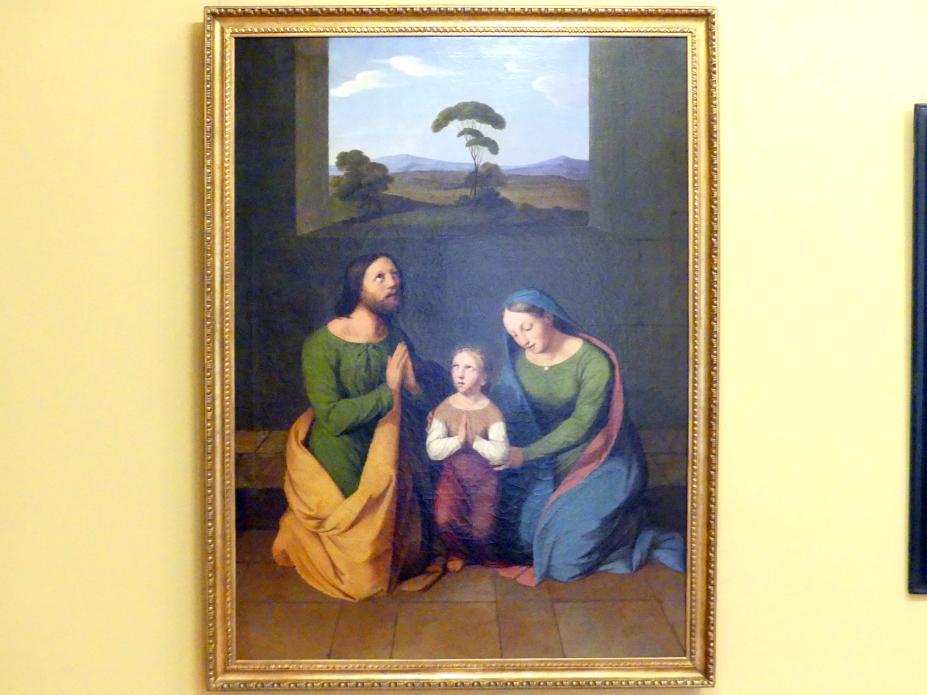 Wojciech Korneli Stattler: Erziehung Mariens, 1825 - 1826