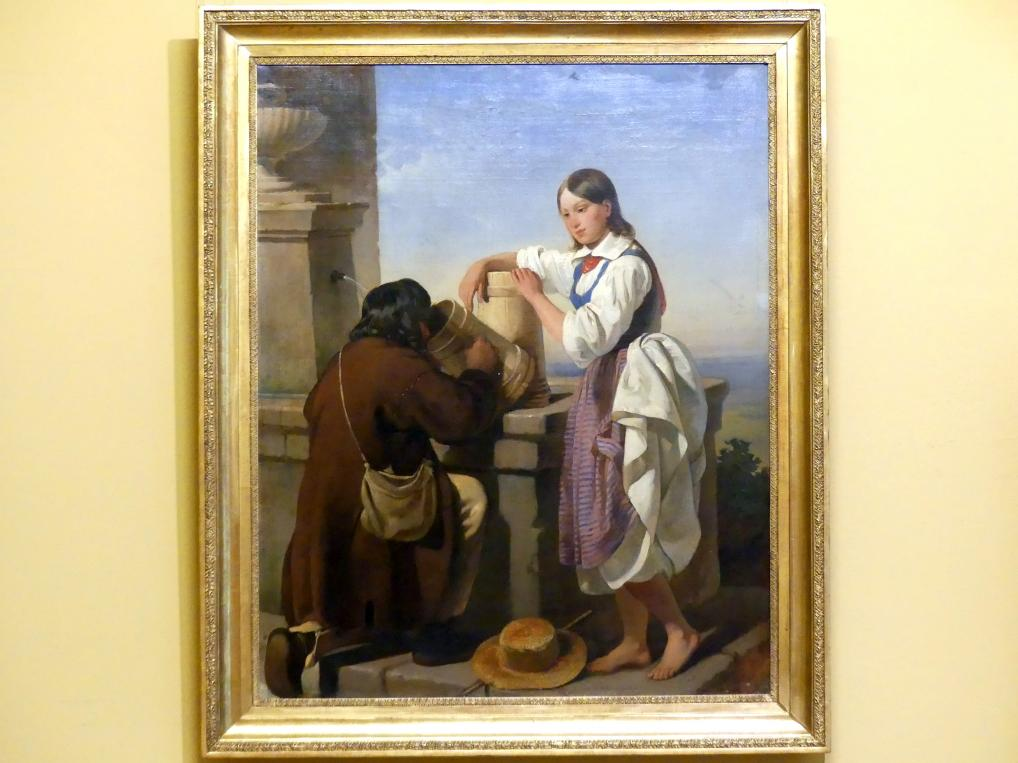 Alojzy Reichan: Am Brunnen, 1847