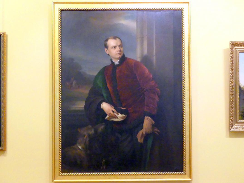 Józef Simmler: Porträt des Kasimir Podhorski, 1858