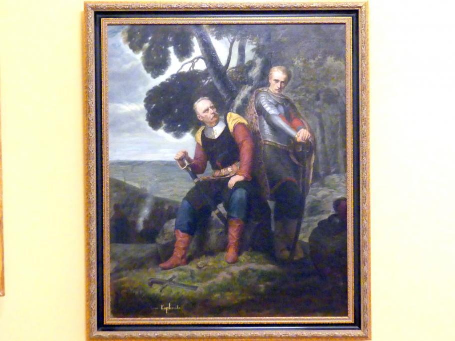 Leon Kapliński: Miecznik und Wacław, 1857