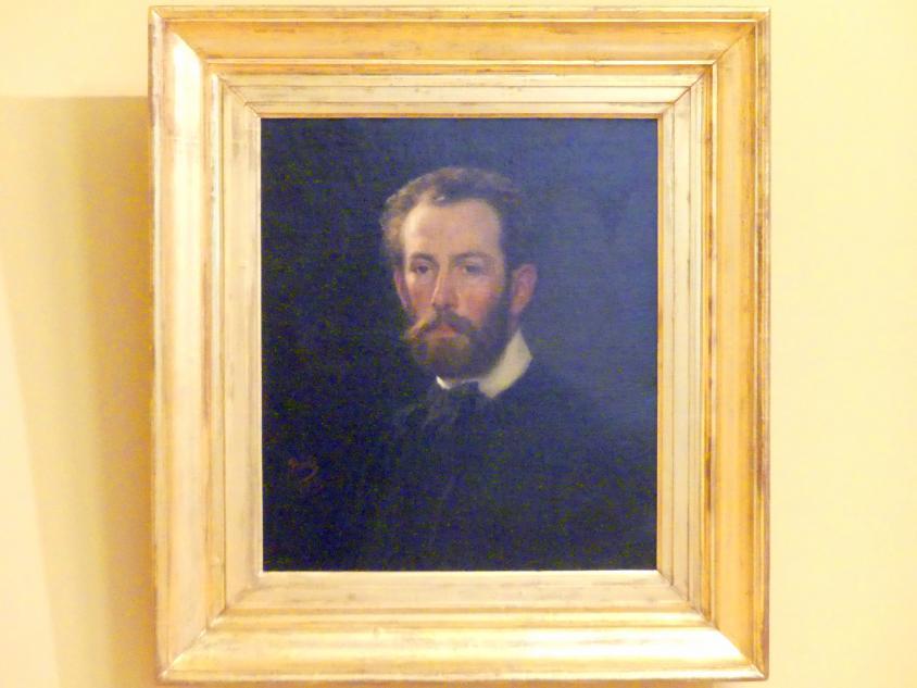 Henryk Rodakowski: Selbstporträt, 1853