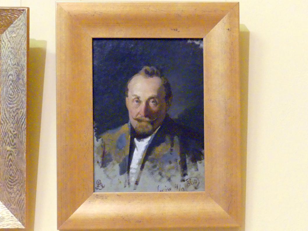 Artur Grottger: Porträt eines Mannes, 1860