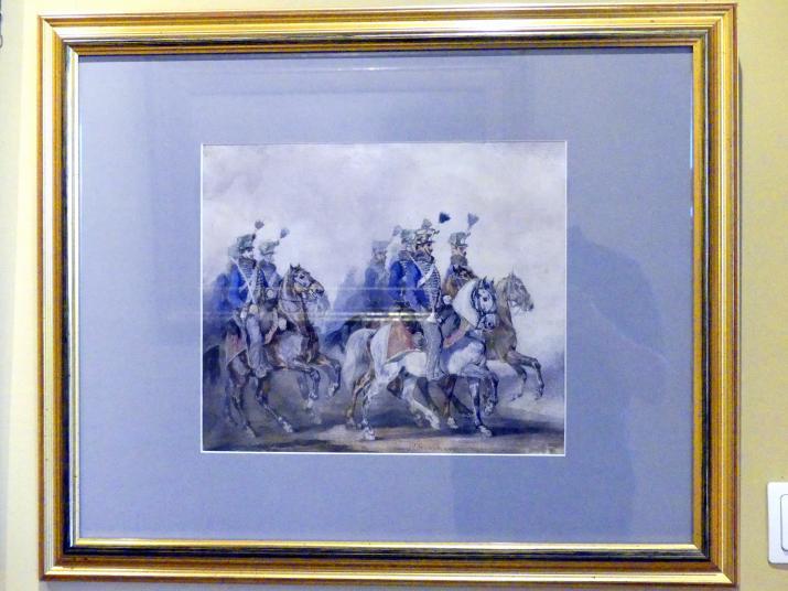 Piotr Michałowski: Blaue Hussaren, 1836