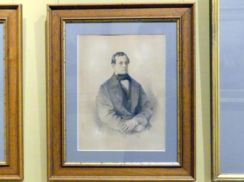 Jan Matejko: Porträt des Antoni Giebułtowski (1805 - 1859), 1857