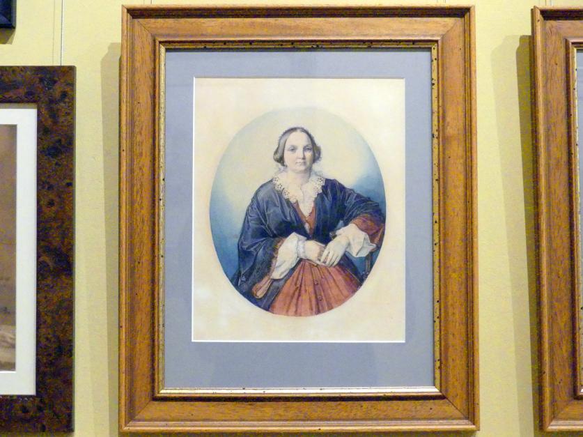 Jan Matejko: Porträt der Paulina Giebułtowska, 1857