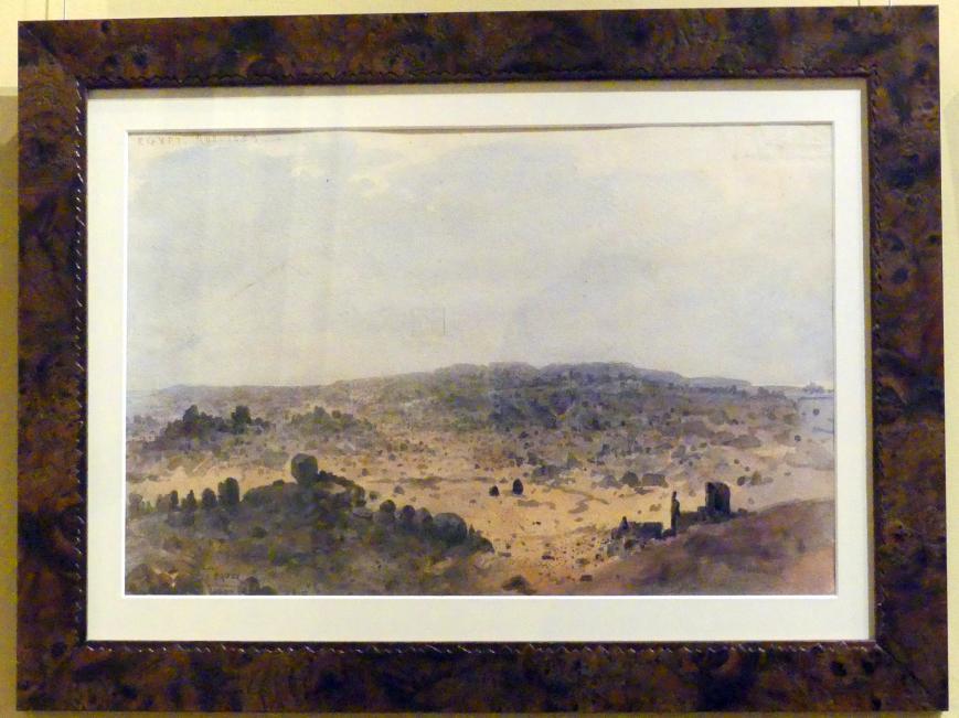 Franciszek Tepa: Wüste in Ägypten, 1853