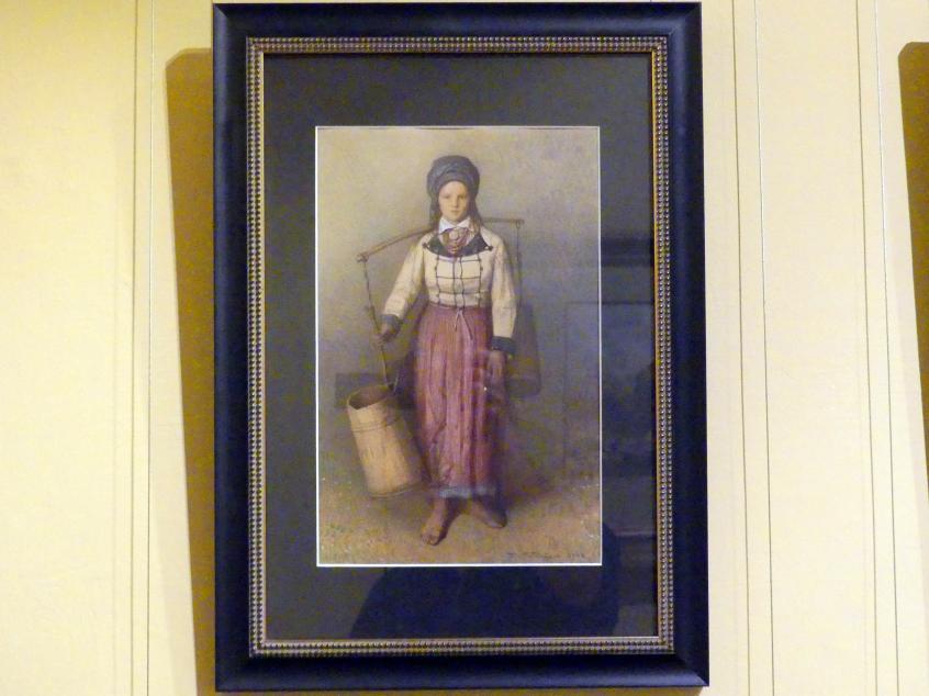 Franciszek Tepa: Mädchen aus Potorytsya, 1868