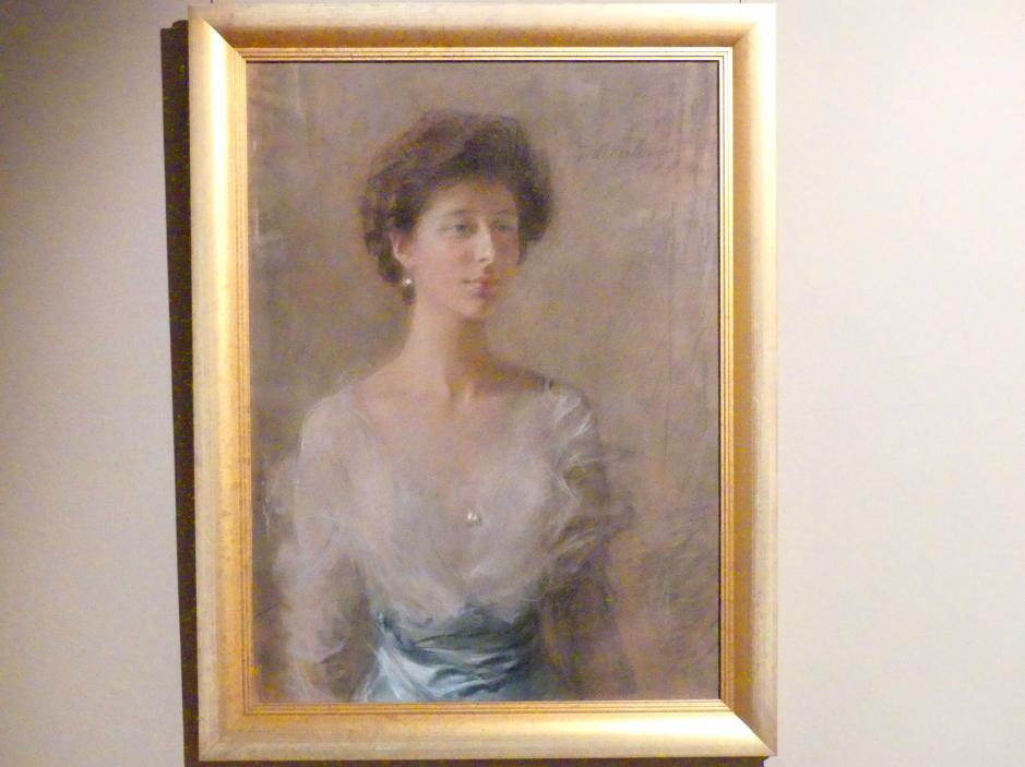 Teodor Axentowicz: Porträt der Maria Pilat, 1909