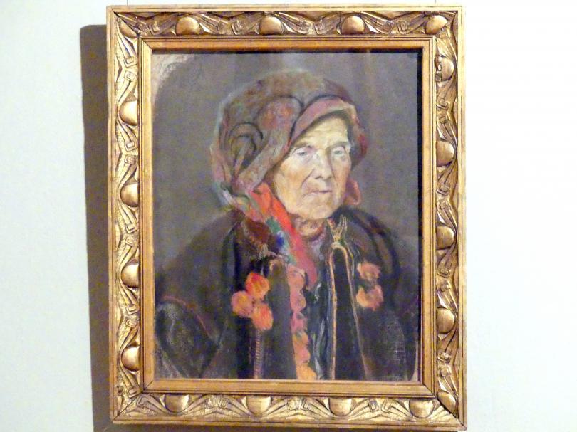Kazimierz Sichulski: Porträtstudie XV, 1904 - 1905