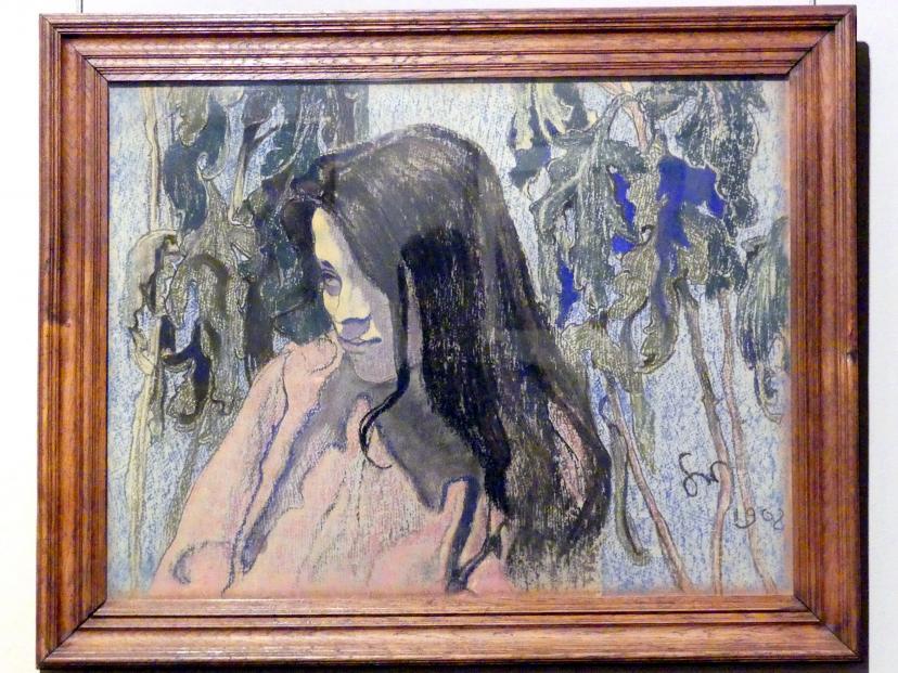 Stanisław Wyspiański: Porträt der Maryna Pareńska, 1902