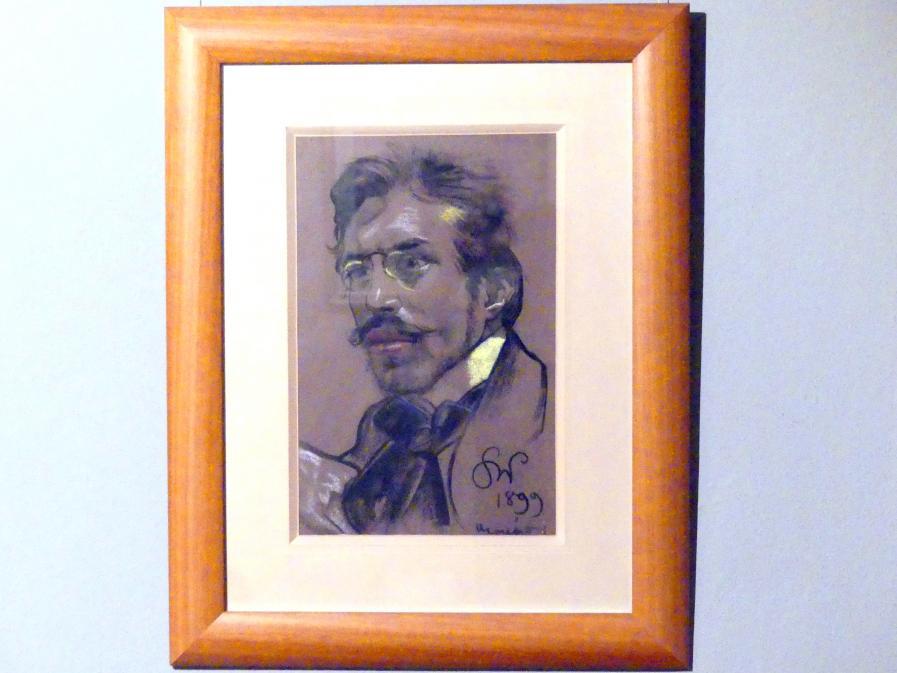 Stanisław Wyspiański: Porträt des Schriftstellers Jerzy Żuławski (1874-1915), 1899
