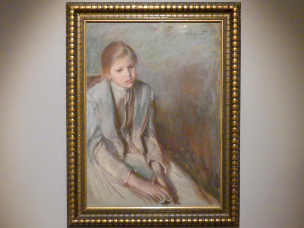Leon Wyczółkowski: Mädchen, 1901
