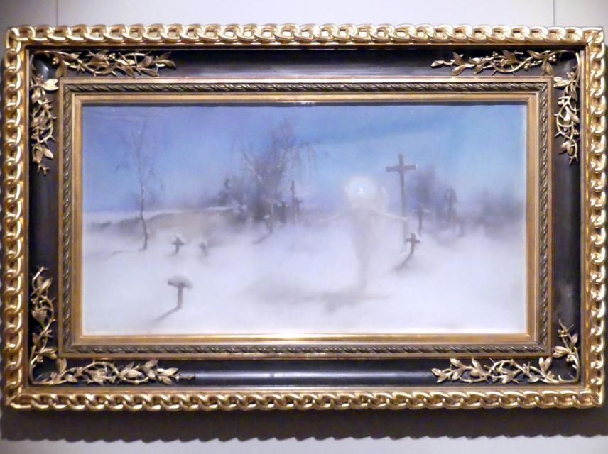 Witold Pruszkowski: Szene aus Juliusz Słowacki's Gedicht 'Anhelli': Eloe, 1892