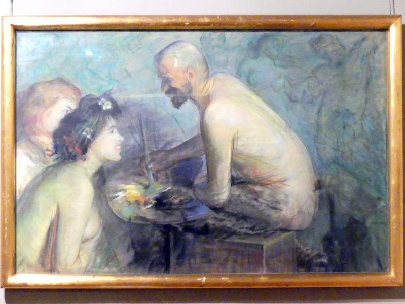 Leon Wyczółkowski: Faun, der Künstler, 1897