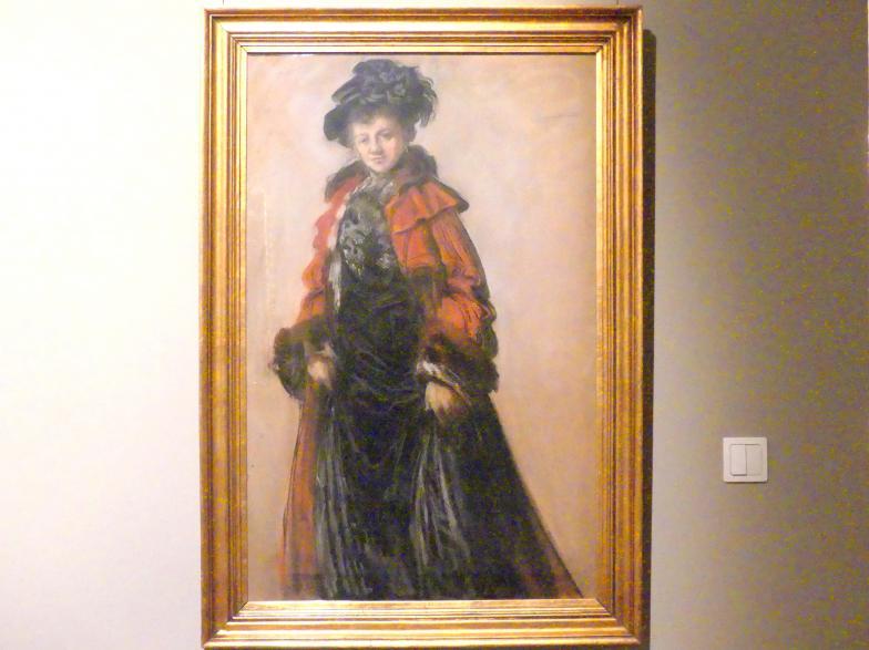 Leon Wyczółkowski: Porträt der Idalia Pawlikowska, 1902