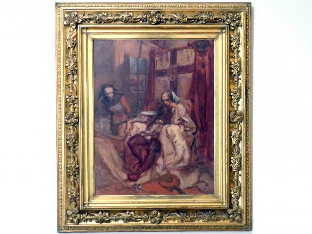 Jan Matejko: Szene aus dem Versepos 'Konrad Wallenrod' von Adam Mickiewicz, 1863