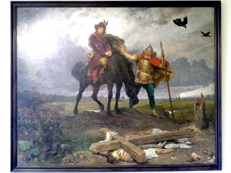 Wojciech Gerson: Kasimir der Erneuerer kehrt nach Polen zurück, 1893