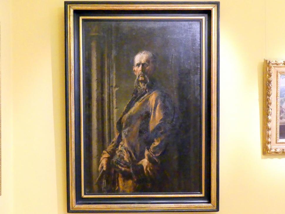 Wilhelm Leopolski: Beschließer Gerwazy (Klucznik Gerwazy), 1874