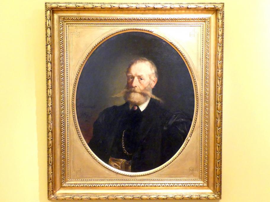Andrzej Grabowski: Porträt des Politikers Franciszek Smolka (1810-1899), 1875