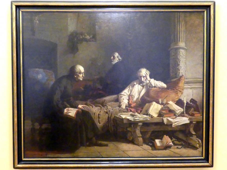 Wilhelm Leopolski: Tod des Acernus, 1867
