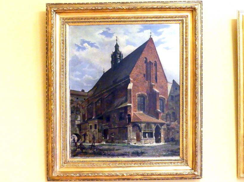 Aleksander Gryglewski: Kirche St. Barbara in Krakau, 1861 - 1862