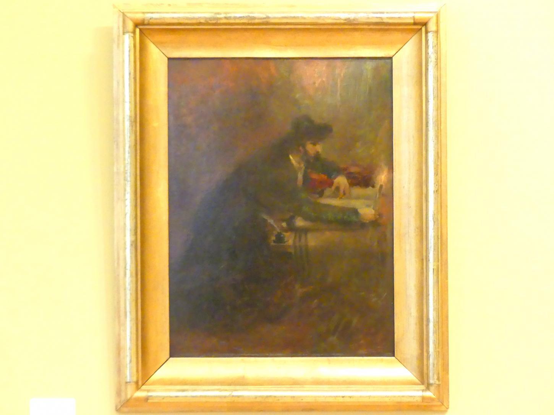 Maurycy Gottlieb: Jüdischer Schriftgelehrter (Sofer), um 1876