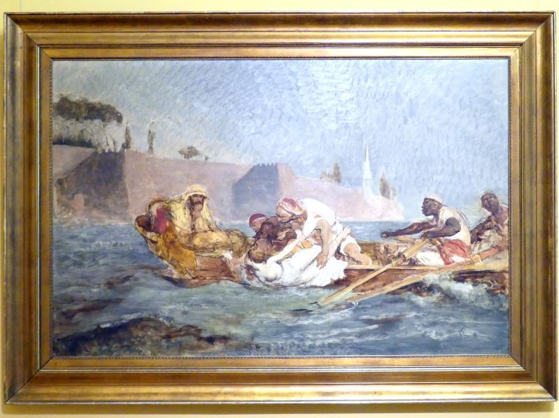 Jan Matejko: Ertrunken im Bosporus, 1880