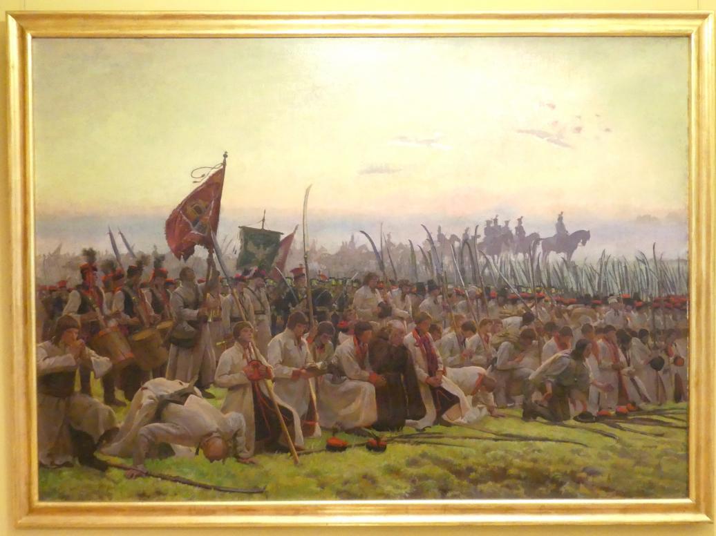 Józef Chełmoński: Die Schlacht von Racławice, 1906