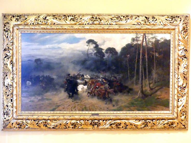 Józef Brandt: Gefecht mit den Schweden, 1878
