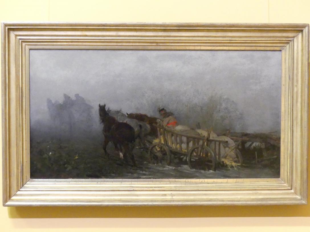 Alfred von Wierusz-Kowalski: Der Nebel, 1874