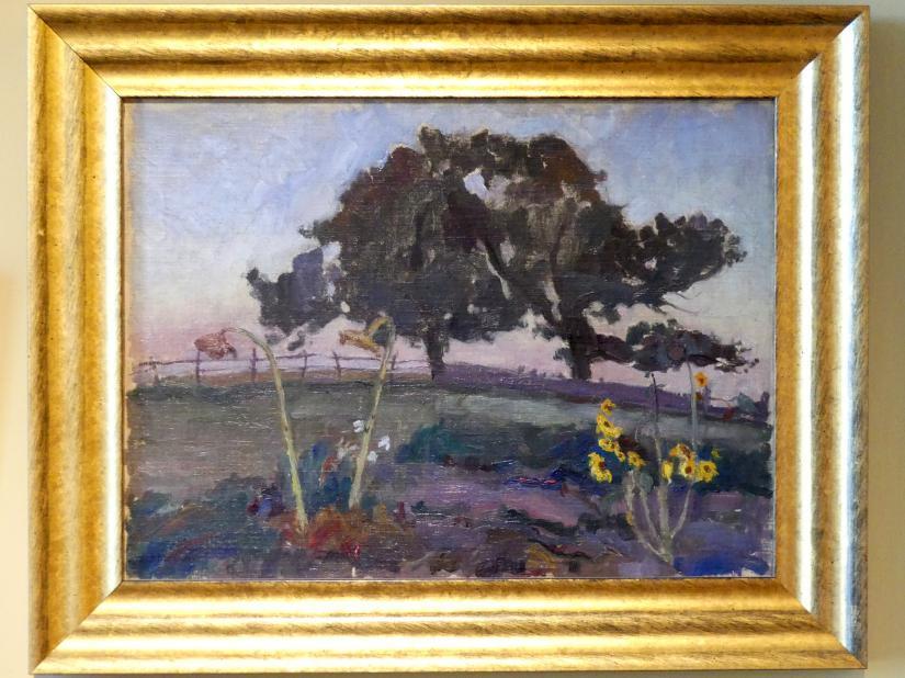 Tadeusz Makowski: Sommerabend, Um 1908