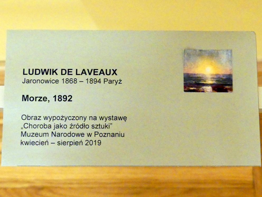 Ludwik de Laveaux: Meer, 1892