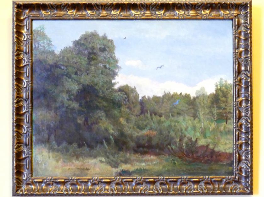 Józef Chełmoński: Landschaft - Wald, 1900