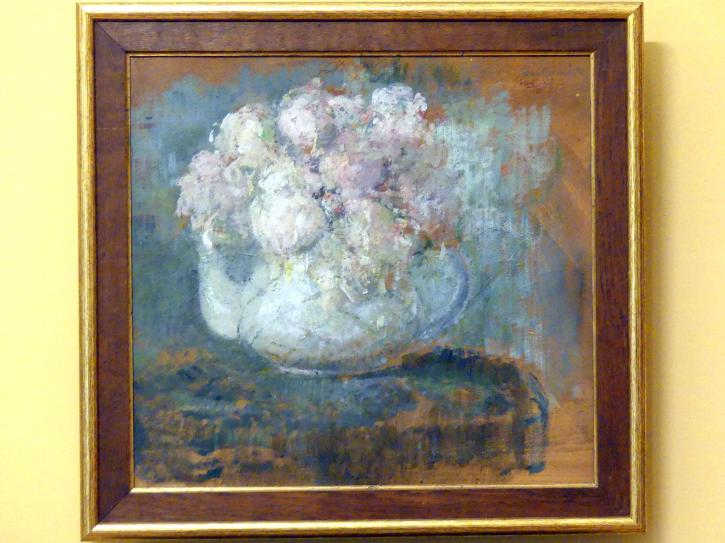 Olga Boznańska: Weiße Rosen, vor 1913
