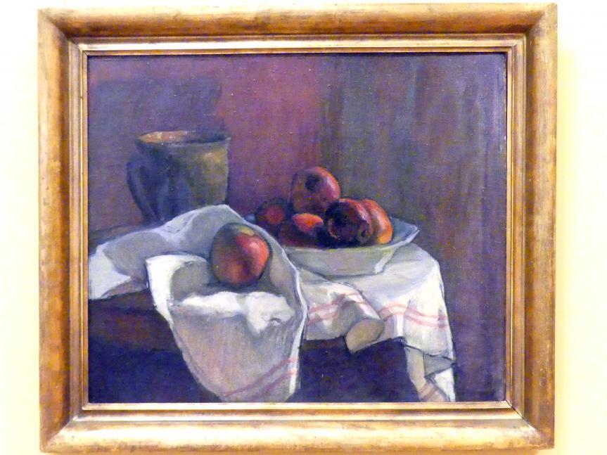 Władysław Ślewiński: Stillleben mit Äpfeln, um 1901