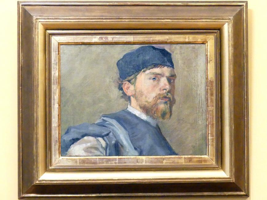 Stanisław Wyspiański: Selbstporträt im Kontusz (Männerbekleidung des polnischen Adels), 1892 - 1894