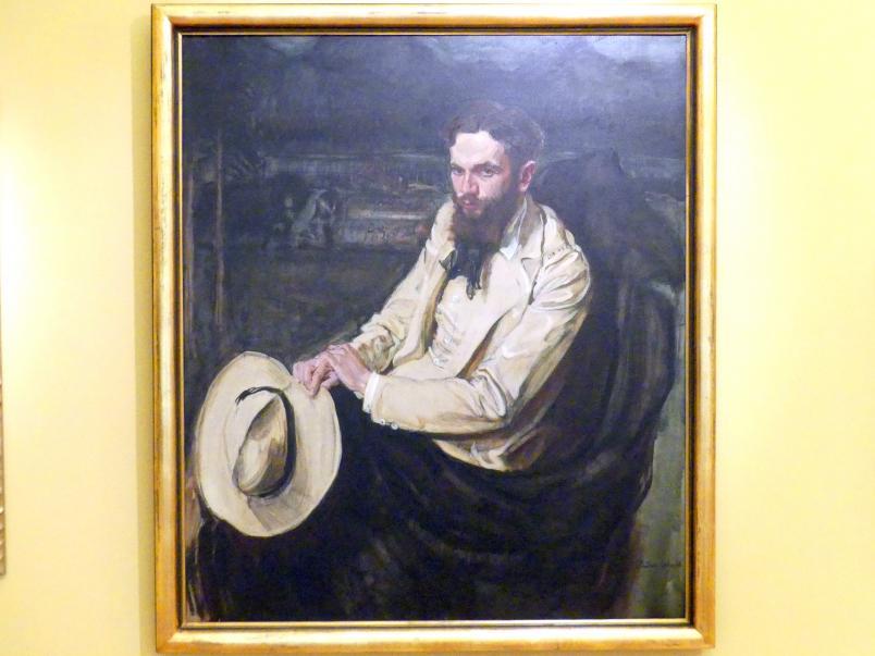 Fryderyk Pautsch: Porträt des Dichters Leopold Staff, 1908