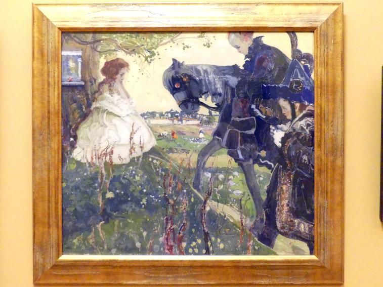 Witold Wojtkiewicz: Der Ruf, 1908