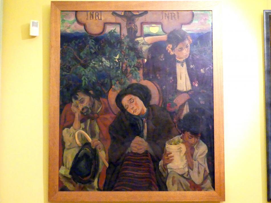 Fryderyk Pautsch: Unter dem Kreuz, 1911