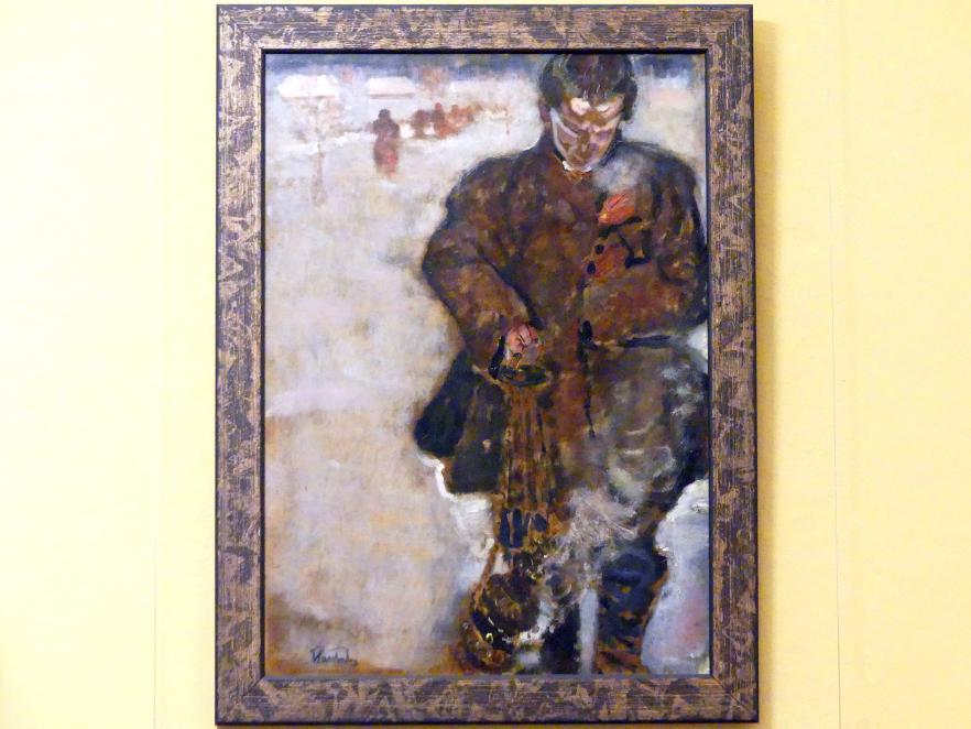 Fryderyk Pautsch: Junge mit Räucherfass, 1909