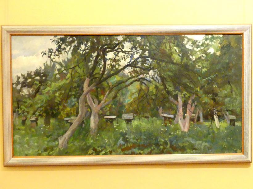 Stanisław Kamocki: In einem Obstgarten, Undatiert
