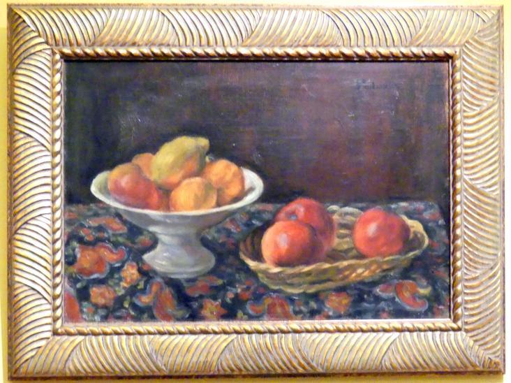 Józef Pankiewicz: Stillleben mit Äpfeln, 1926