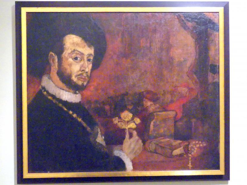 Leon Chwistek: Selbstporträt, 1913 - 1914