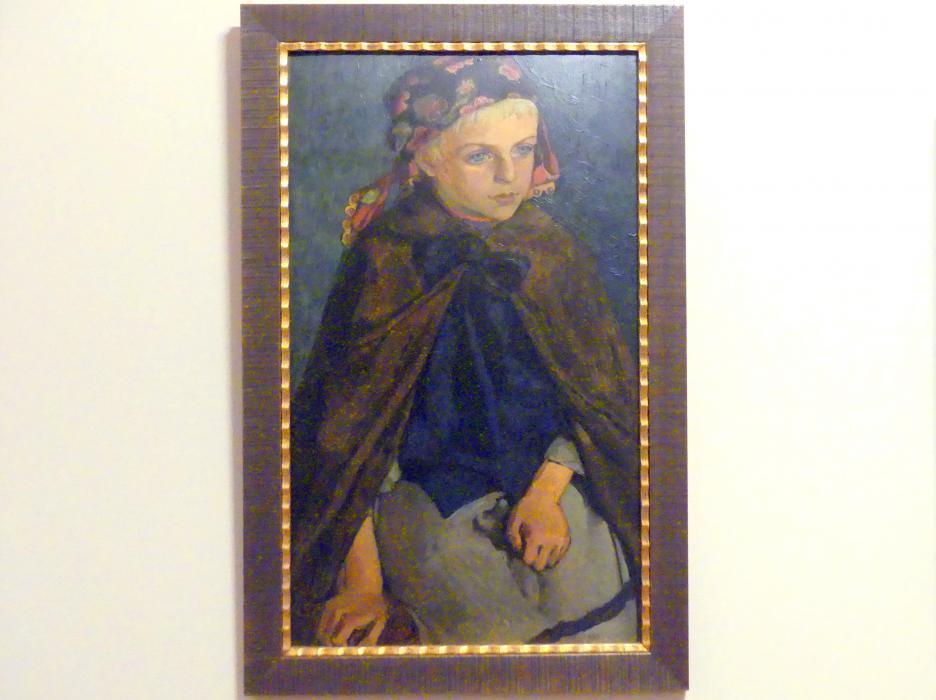 Józef Mehoffer: Gebirgsmädchen, 1904