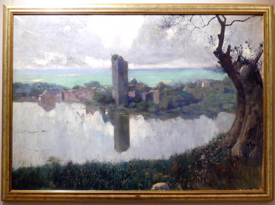 Feliks Michał Wygrzywalski: Garten von Ninfa, 1911