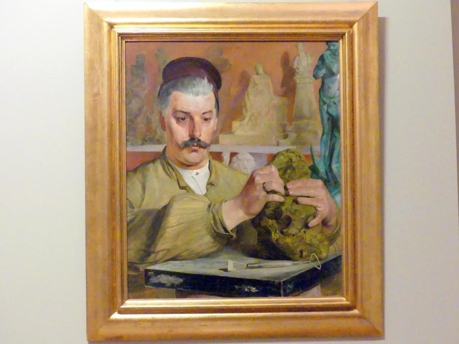Jacek Malczewski: Porträt des Bildhauers Tadeusz Błotnicki (1858-1928), 1901 - 1902