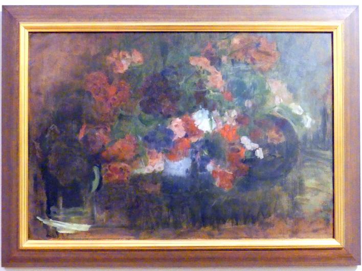Olga Boznańska: Vasen mit Blumen, Nach 1920