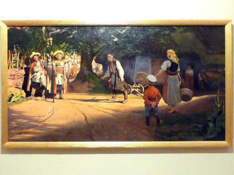 Włodzimierz Tetmajer: Vor der Piastenhütte, 1908