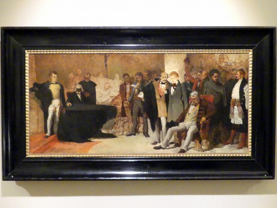 Leon Piccard: Kordian in der Krypta der Johanneskathedrale, Undatiert